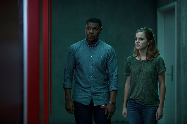 Something is not right at The Circle: John Boyega and Emma Watson