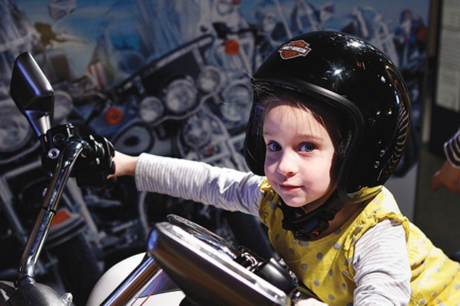 Hands-On Harley-Davidson at Children's Museum of Pittsburgh, beginning May 20
