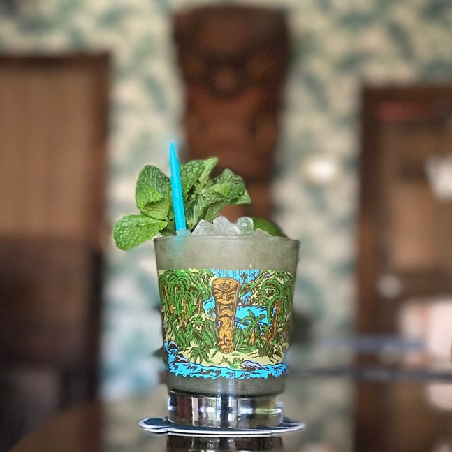 A Mai Tai at Hidden Harbor