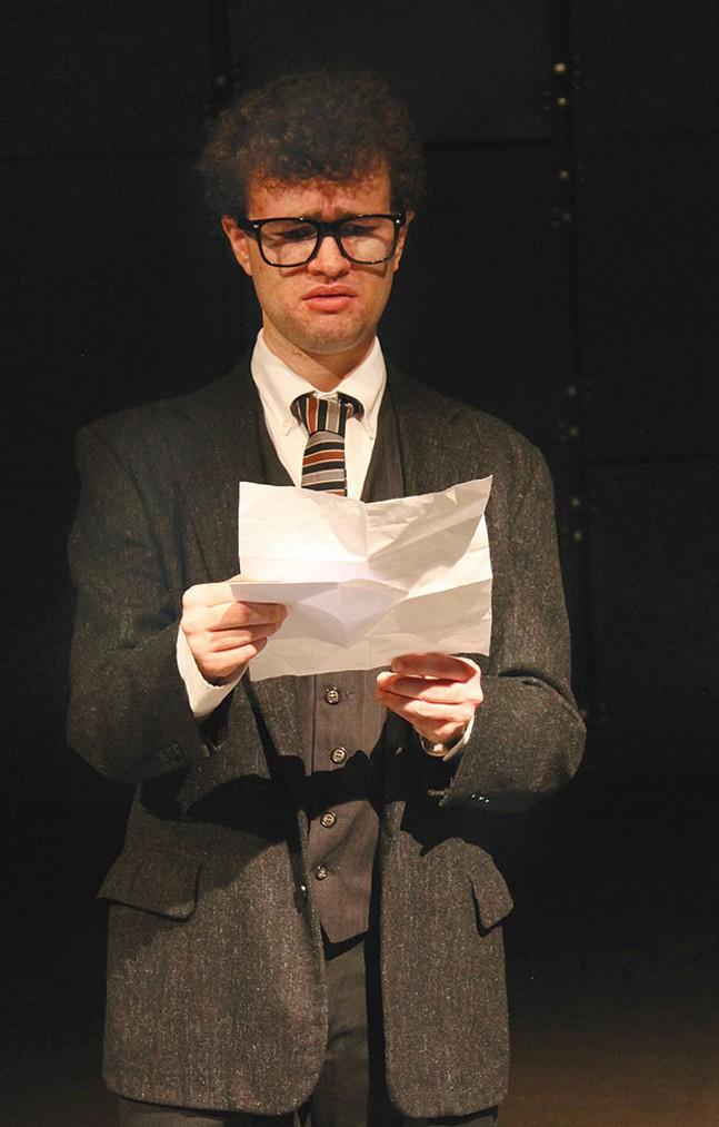 Matt Henderson in Thom Pain, at 12 Peers Theater