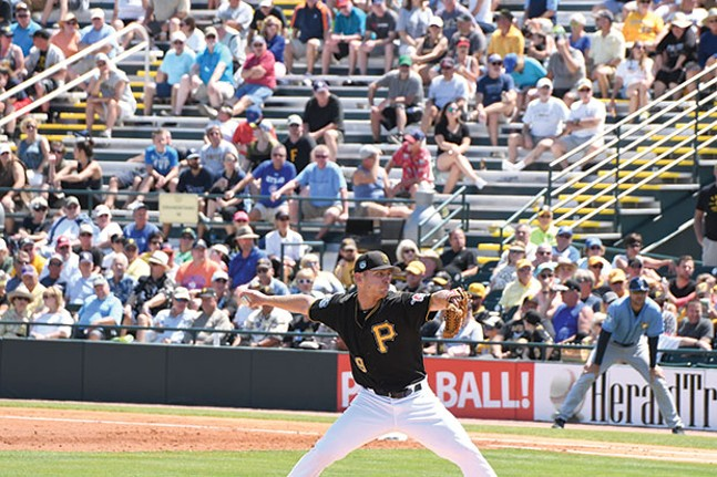 Chad Kuhl and the Pittsburgh Pirates have had some issues this season. Luckily the rest of their division has, too.