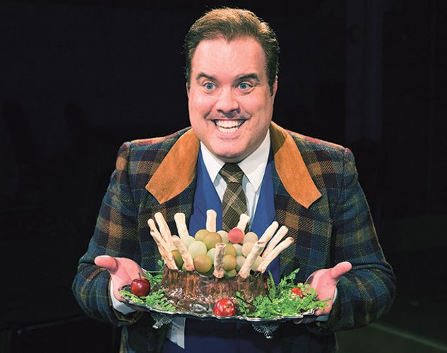 Tom Protulipac in One Man, Two Guvnors