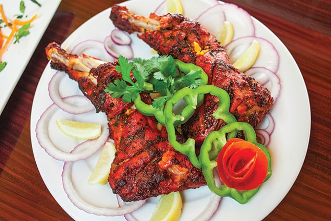Spice Affair, in Aspinwall, offers a full menu of Indian fare ...