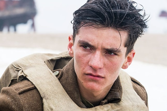 Staying alive: Fionn Whitehead