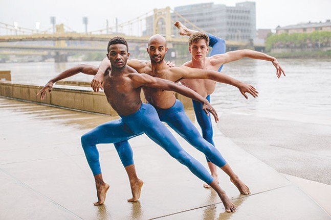Point Park Conservatory Dance Company dancers