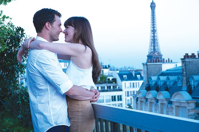 We'll always have Paris: Jamie Dornan and Dakota Johnson