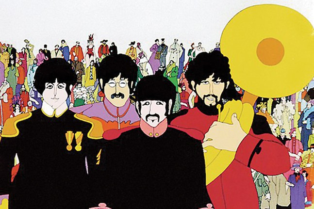 The Beatles in Yellow Submarine