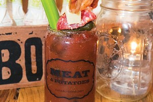 Meat and Potatoes, winner of Best Bloody Mary - CP PHOTO BY JOHN COLOMBO
