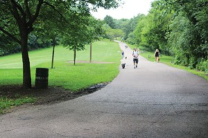Frick Park, winner of Best Walking Trail and Best Dog Park - CP PHOTO BY KRISTA JOHNSON