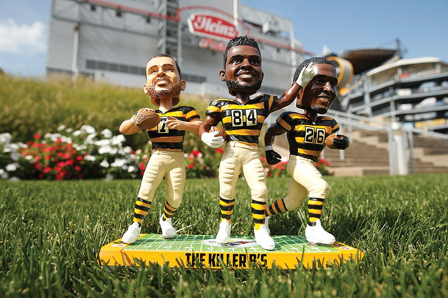 Fans fly in from all over the country to catch these Killer B's at Heinz Field - CP PHOTO: JARED WICKERHAM