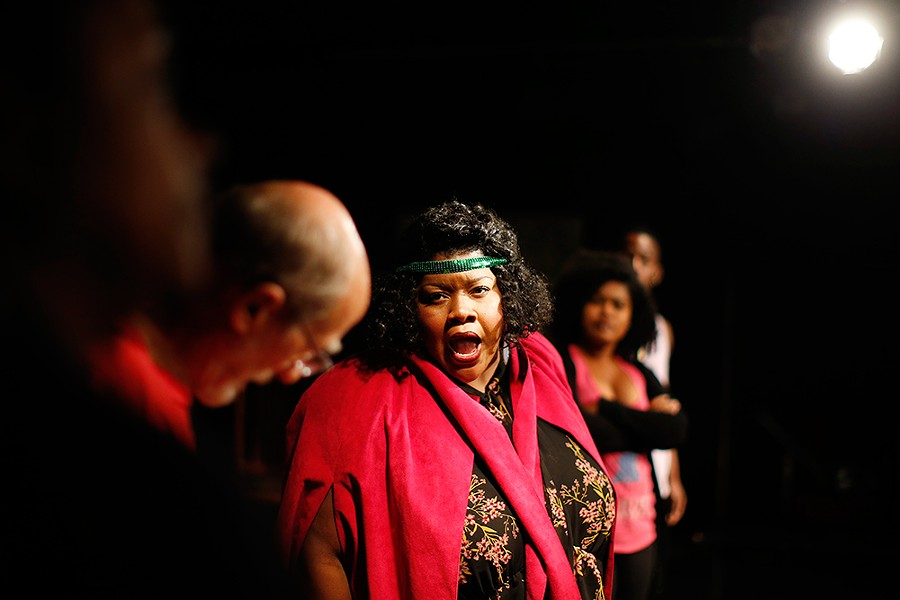Vanessa German as Ma Rainey - CP PHOTO: JARED WICKERHAM