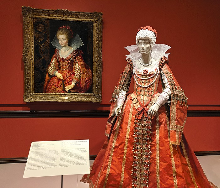 Costume of the Princess of Condé - CP PHOTO: MAGGIE WEAVER