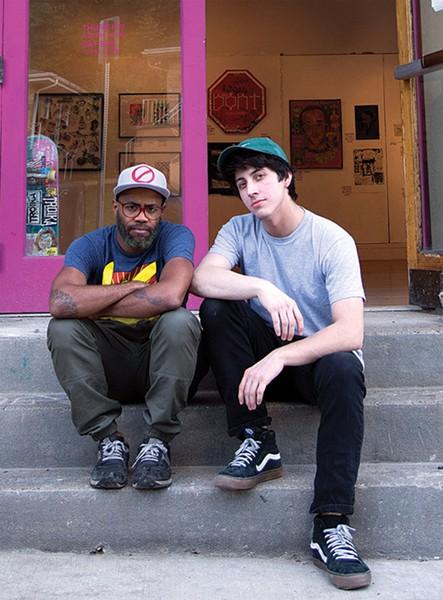 Jerome Charles and Max Gonzales - SARAH BADER