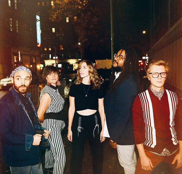 LAKE STREET DIVE. SCREENSHOT OF OPUS ONE PRODUCTIONS TWEET