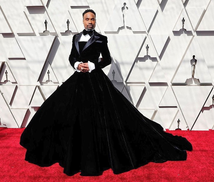 Billy Porter at the Academy Awards, Feb. 17 2019