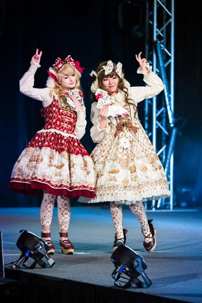 A Lolita fashion show at Tekko 2018 - MAYA ELAINE