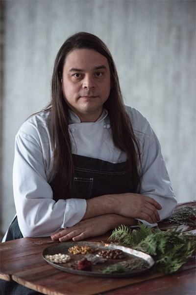 Chef Sean Sherman - COURTESY OF THE WESTMORELAND MUSEUM OF AMERICAN ART