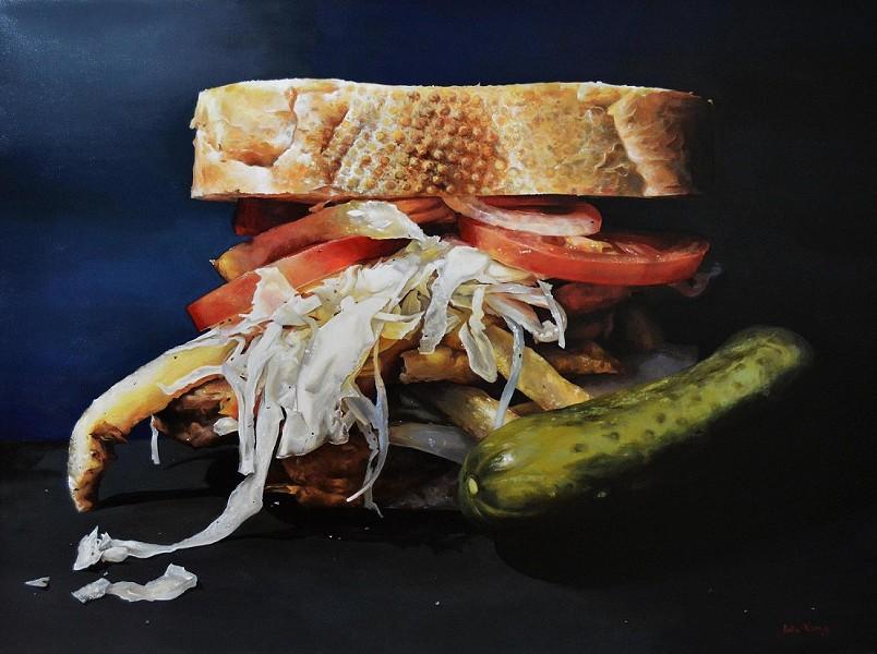 The Pitts-Burger by Katie Koenig - PHOTO: KATIE KOENIG