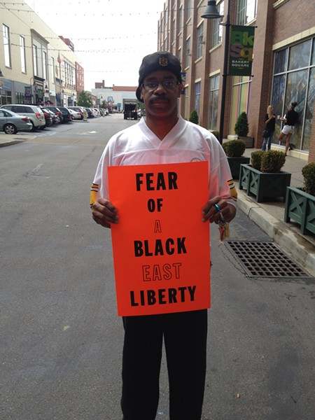 Darrell Robinson, East Liberty resident - PHOTO BY ALEX ZIMMERMAN