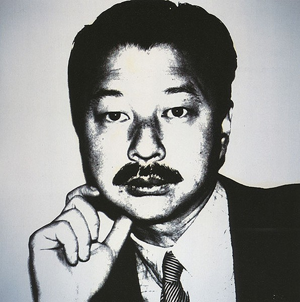 Andy Warhol, Michael Chow, 1984, Collection of Michael and Eva Chow, at The Andy Warhol Museum - PHOTO COURTESY OF ©THE ANDY WARHOL FOUNDATION FOR THE VISUAL ARTS, INC.