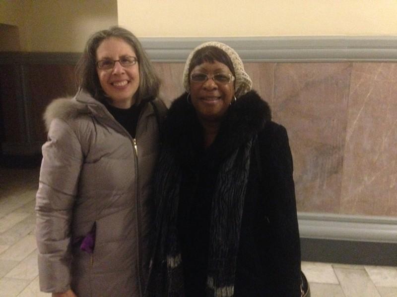 Terri Klein, left, and Earlene Coleman - PHOTO BY RYAN DETO