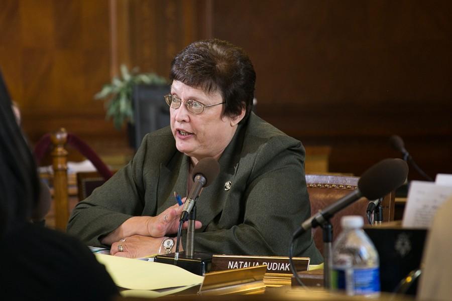 Councilor Darlene Harris - PHOTO BY MARK SCHWARZ