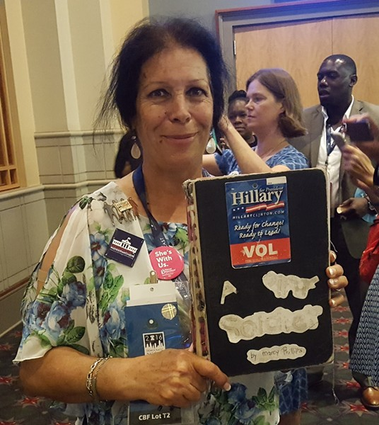 Idaho Delegate Marcy Phillips - PHOTO BY REBECCA ADDISON