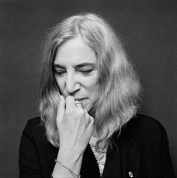 Patti Smith, Oct. 10 at Pittsburgh Arts & Lectures - PHOTO COURTESY OF JESSE DITMAR