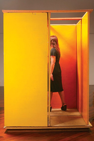 ART BY HÉLIO OITICICA. PHOTO BY CÉSAR OITICICA FILHO, COURTESY OF CÉSAR AND CLAUDIO OITICICA
