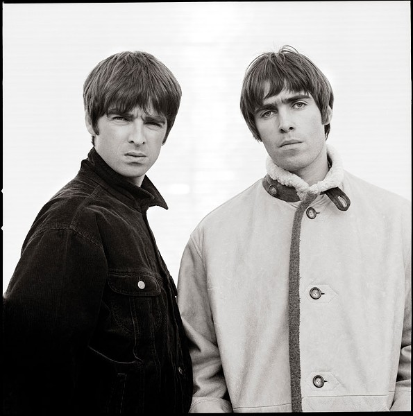 Noel and Liam Gallagher - COPYRIGHT JILL FURMANOVKSY