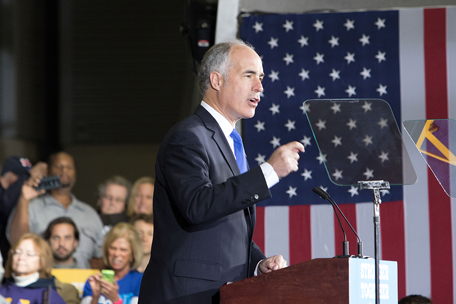 U.S. Senator Bob Casey - CP PHOTO BY LUKE THOR TRAVIS
