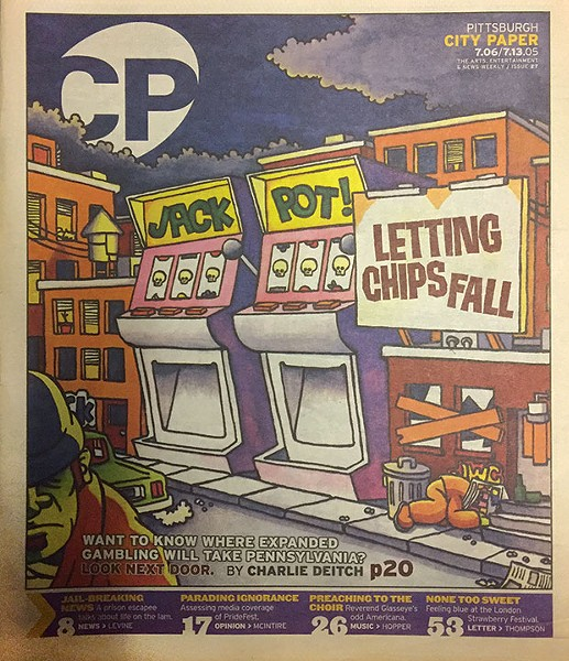 July 6, 2005 long-form cover story on gambling