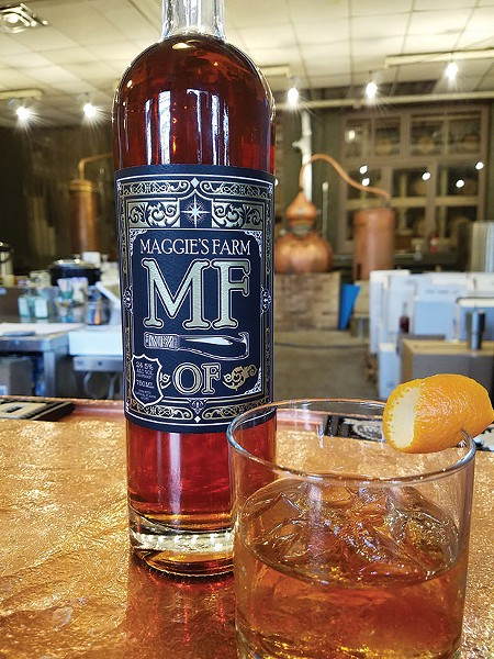 Maggie's Farm Rum's pre-mixed M.F.O.F. - PHOTO COURTESY OF MAGGIE'S FARM RUM
