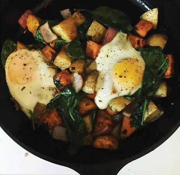One-Pan Breakfast - PHOTO COURTESY OF SAWYER SIDELINGER