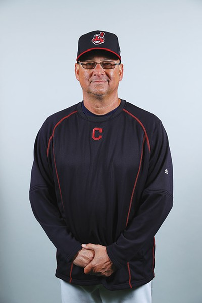 Terry Francona - PHOTO COURTESY OF THE CLEVELAND INDIANS