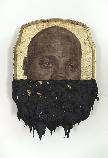 "Titus Kaphar's ""Jerome IV"" - IMAGE COURTESY OF THE ARTIST AND JACK SHAINMAN GALLERY"