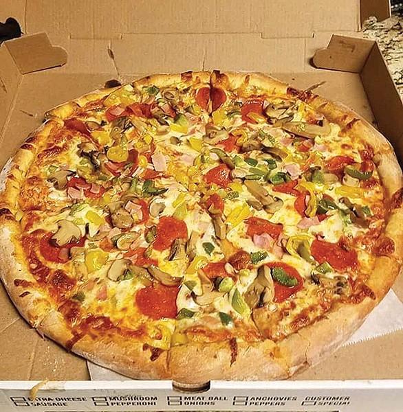 Pizza from Allegheny City Market - PHOTO COURTESY OF JAKE JOHNSON