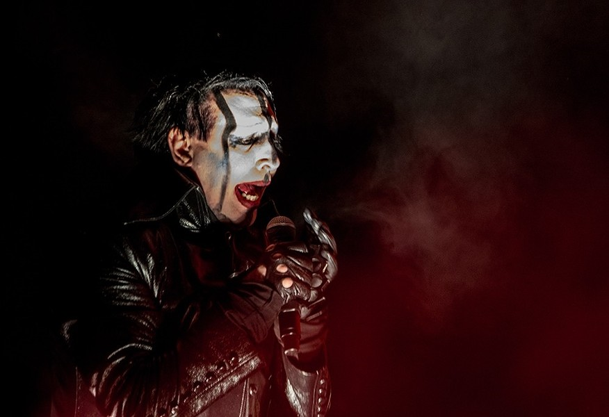 Marilyn Manson performs at Stage AE in September 2017 - CP PHOTO BY LUKE THOR TRAVIS
