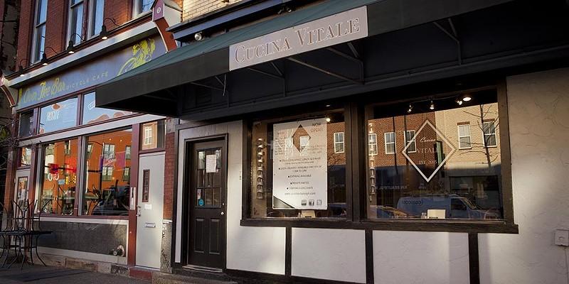 Cucina Vitale Cucina Vitale exterior on Carson Street Photo by Heather Mull