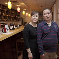 Sakura Sakura owners Feng Ping Geng and Feng Gao Photo by Heather Mull