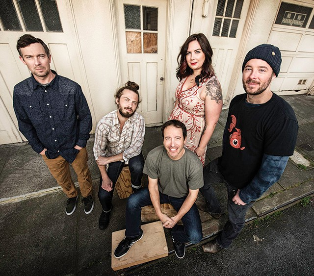 Yonder Mountain String Band plays The Rex Theater - YONDER MOUNTAIN STRING BAND