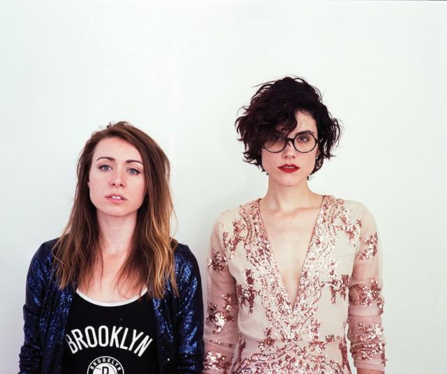 Sad Girls Aquatics Club: Chelsea Rumbaugh and Marie Mashyna