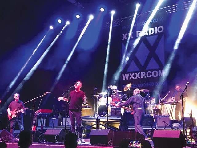 The Affordable Floors at the WXXP Reunion Show at Stage AE - PHOTO: HARRISON LILLEY