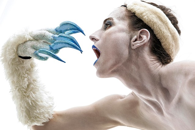 Caitlin Scranton in Christopher Williams' Ursula and the 11,000 Virgins - PHOTO: ANDREW JORDAN