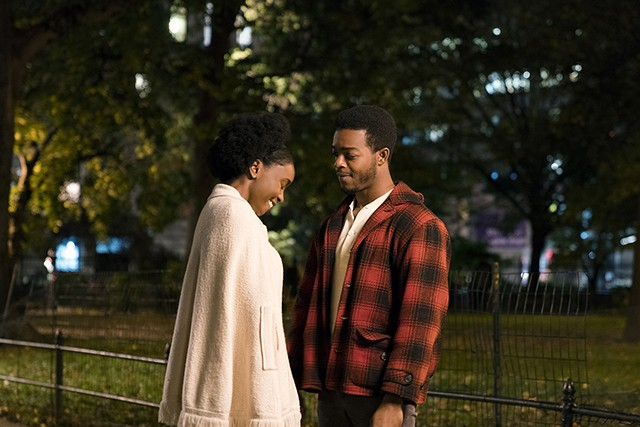 Kiki Layne and Stephan James in If Beale Street Could Talk - TATUM MANGUS/ANNAPURNA PICTURES