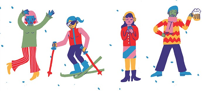 CP Winter Guide illustrations by Christina Lee