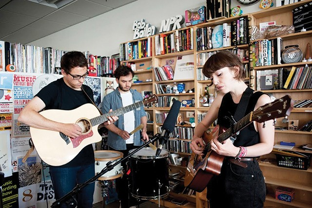 Daughter's NPR Tiny Desk performance