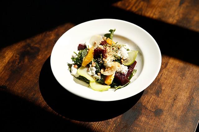 The beet salad - CP PHOTO: JARED WICKERHAM