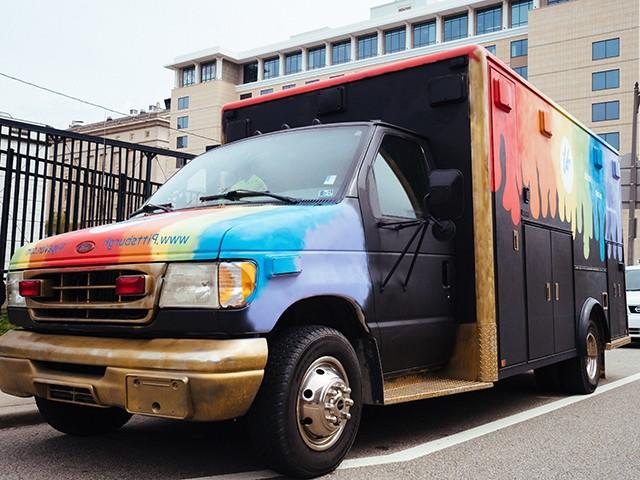 The Vape Van - CP PHOTO: JARED MURPHY
