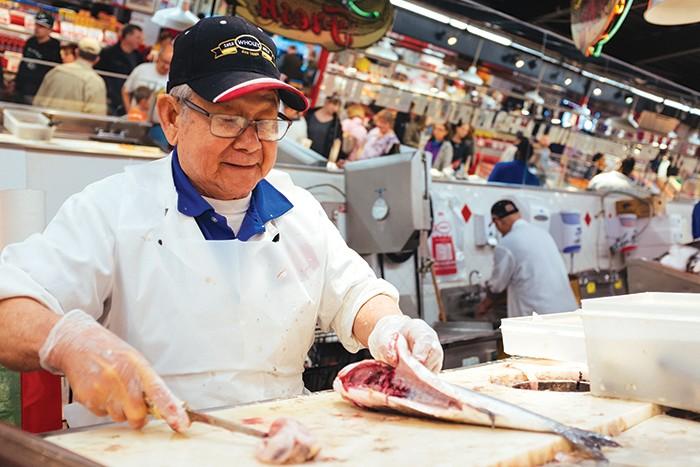 Fresh fish at Wholey's - CP PHOTO: JARED MURPHY